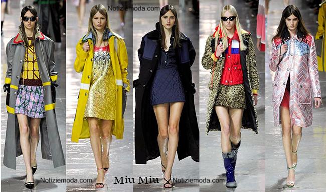 Look Miu Miu autunno inverno 2014 2015 moda donna