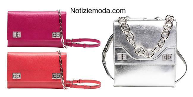 Look Prada autunno inverno 2014 2015 moda donna