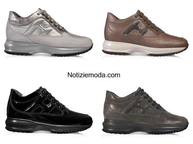 Look scarpe Hogan autunno inverno 2014 2015 donna