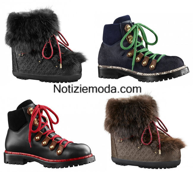 Look scarpe Louis Vuitton autunno inverno 2014 2015