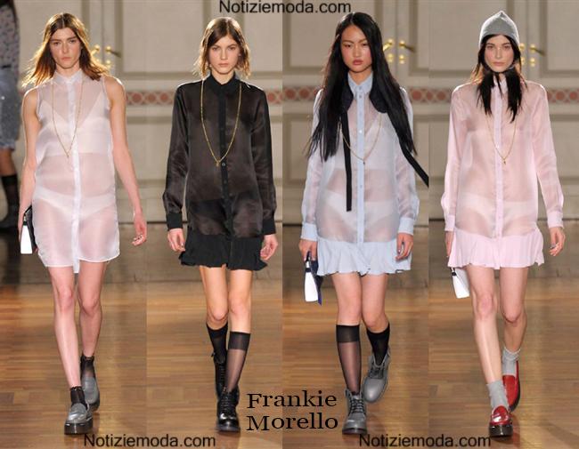 Look vestiti Frankie Morello autunno inverno 2014 2015