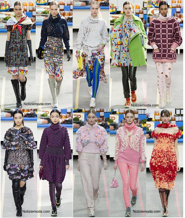 Notizie moda  Chanel autunno inverno 2014 2015 donna