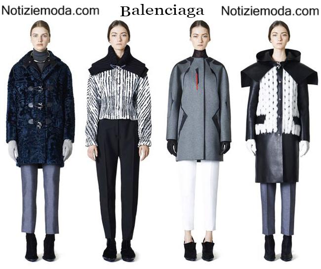 Outfit Balenciaga autunno inverno 2014 2015 donna