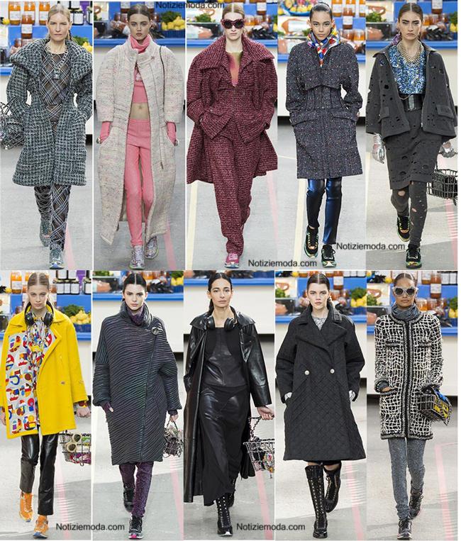 Outfit Chanel autunno inverno 2014 2015 moda donna