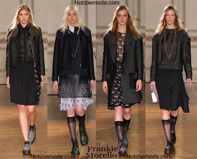 Outfit Frankie Morello autunno inverno 2014 2015.