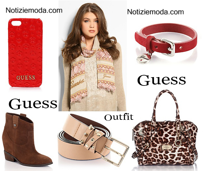 Outfit Guess autunno inverno 2014 2015