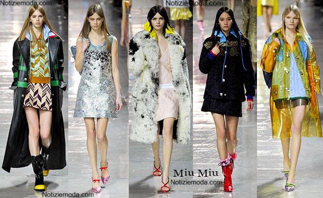 Outfit Miu Miu autunno inverno 2014 2015 moda donna