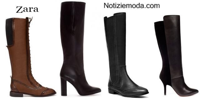 Stivali Zara autunno inverno 2014 2015 donna