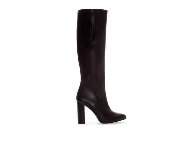 taglia 40 7c198 47fae Stivali alti scarpe Zara autunno inverno 2014 2015