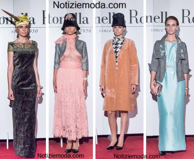 Tendenze Antonella Rossi Alta Roma 2014 2015 moda donna