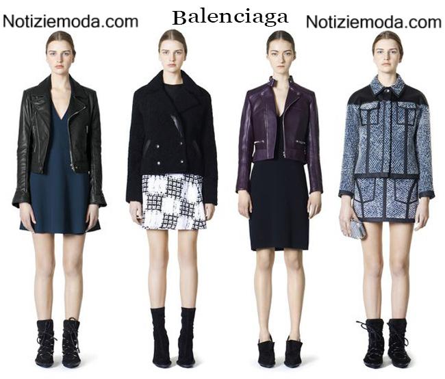 Tendenze Balenciaga autunno inverno 2014 2015 moda donna