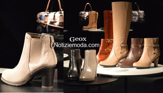 Tendenze scarpe Geox autunno inverno 2014 2015