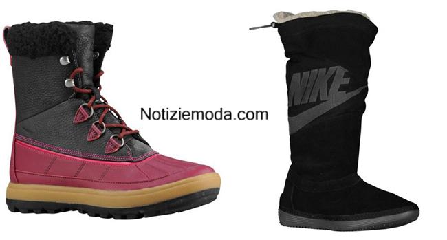Tendenze scarpe Nike autunno inverno 2014 2015 donna