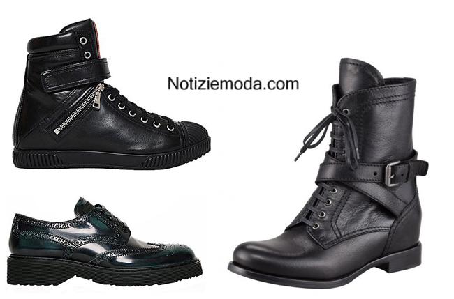 Tendenze scarpe Prada autunno inverno 2014 2015