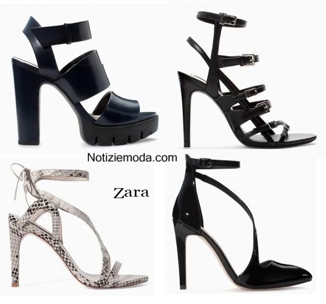 Tendenze scarpe Zara autunno inverno 2014 2015