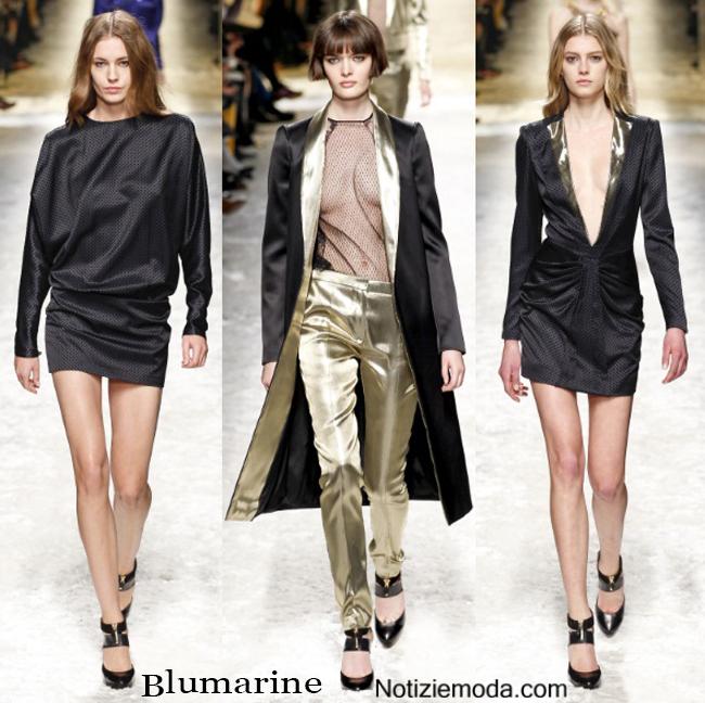 Abbigliamento Blumarine autunno inverno 2014 2015