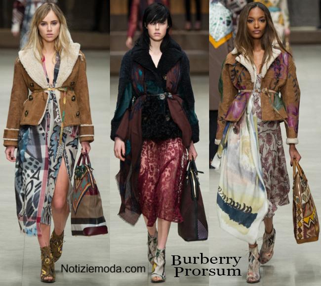 Abbigliamento Burberry autunno inverno 2014 2015