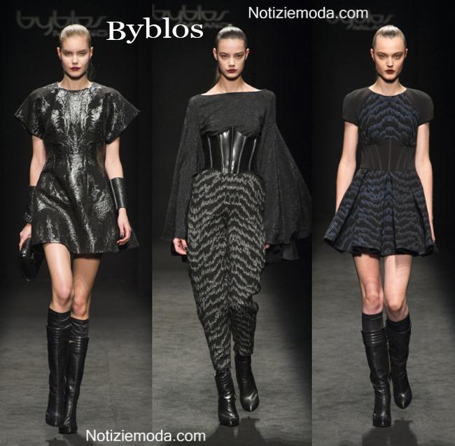 Abbigliamento Byblos autunno inverno 2014 2015 donna