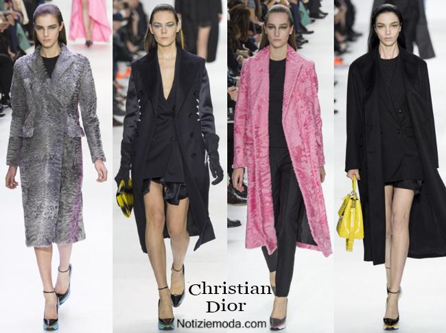 Abbigliamento Christian Dior autunno inverno 2014 2015