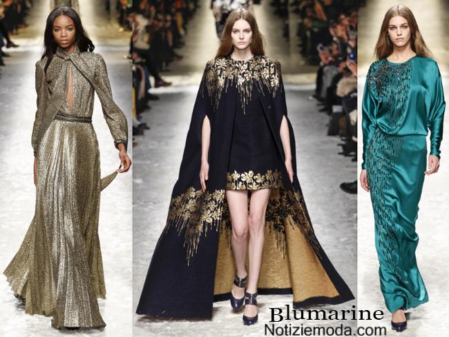 Abiti Blumarine autunno inverno 2014 2015 moda donna