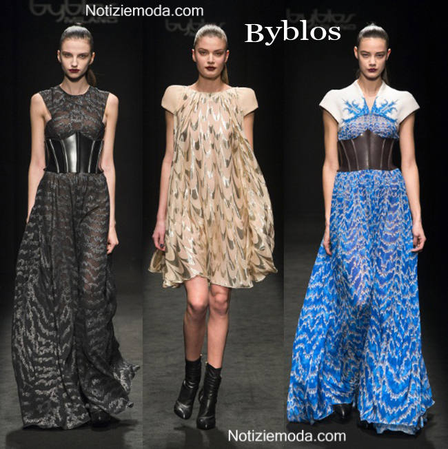 Abiti Byblos autunno inverno 2014 2015 moda donna