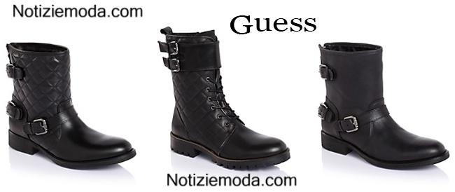 Anfibi Guess scarpe autunno inverno 2014 2015