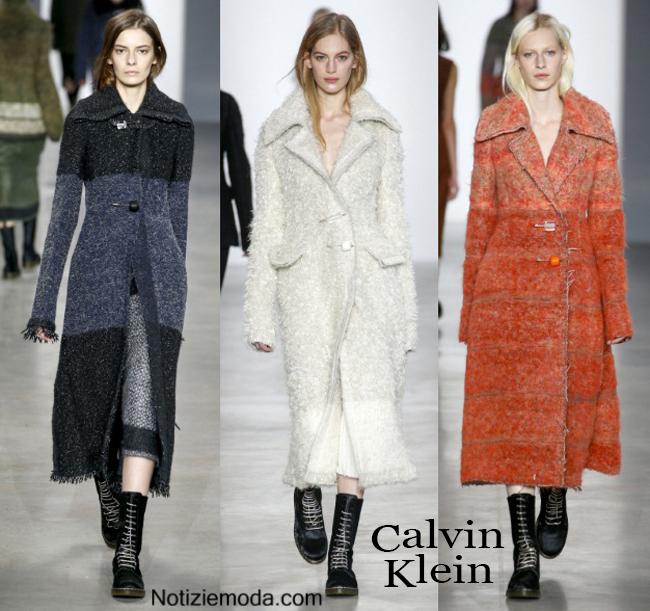 Cappotti Calvin Klein autunno inverno 2014 2015