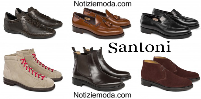 Collezione scarpe Santoni autunno inverno 2014 2015