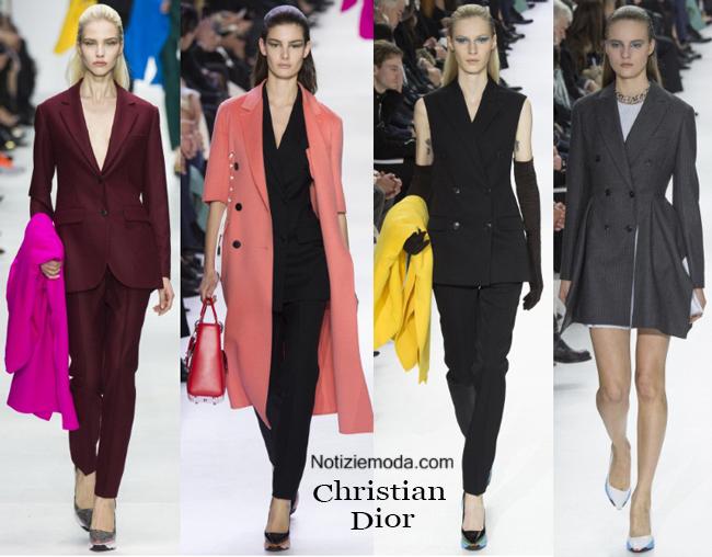 Look vestiti Christian Dior autunno inverno 2014 2015