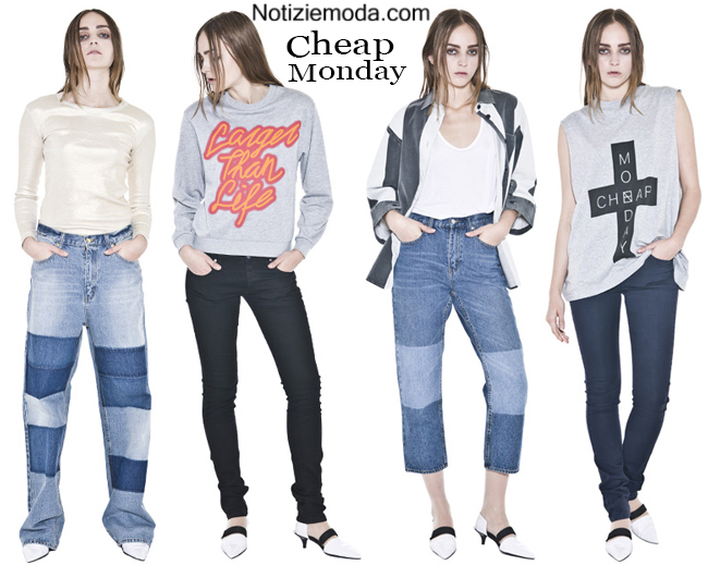 Moda Jeans Cheap Monday denim look e tendenze