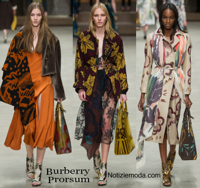 Outfit Burberry Prorsum autunno inverno 2014 2015