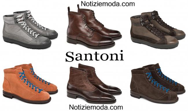Polacchini Santoni scarpe autunno inverno 2014 2015