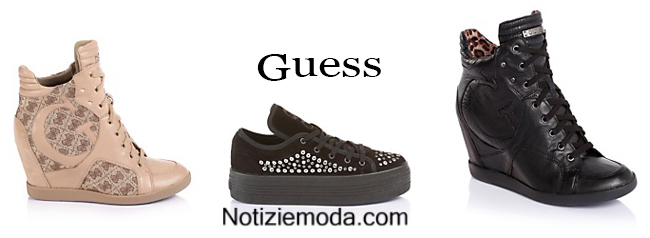 Sneakers Guess scarpe autunno inverno 2014 2015