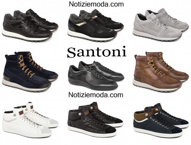Sneakers Santoni scarpe autunno inverno 2014 2015 6305ced3ac4