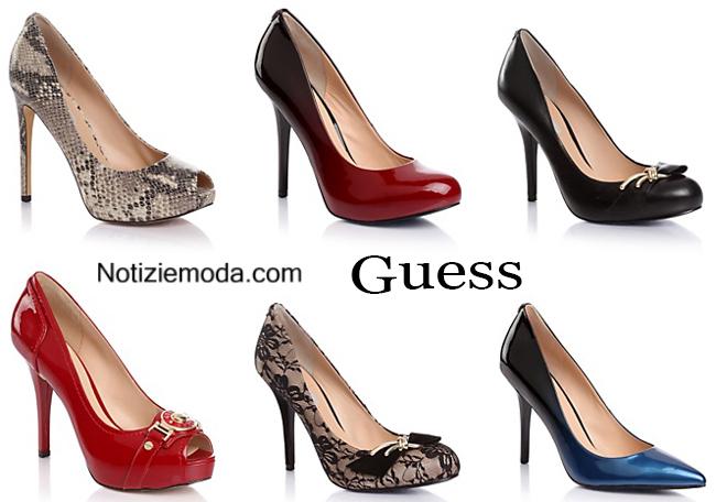 Tendenze nuovi arrivi Guess scarpe autunno inverno
