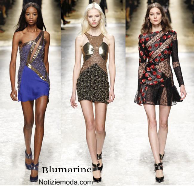 Vestiti Blumarine autunno inverno 2014 2015 moda donna