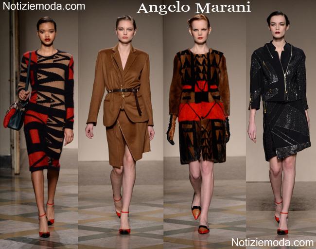Abbigliamento Angelo Marani autunno inverno 2014 2015