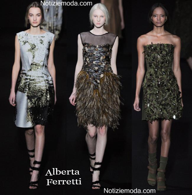 Abiti Alberta Ferretti autunno inverno 2014 2015