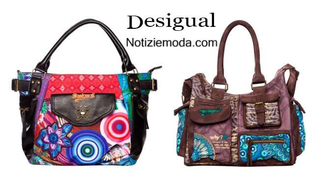 Handbags Desigual autunno inverno 2014 2015 notizie moda