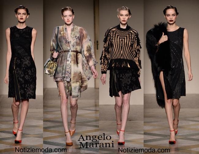 Vestiti Angelo Marani autunno inverno 2014 2015 moda donna