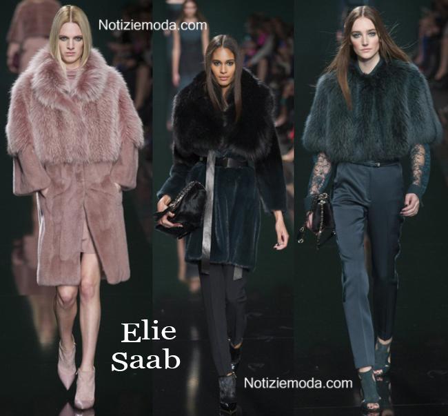 Abbigliamento Elie Saab autunno inverno 2014 2015