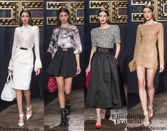 Abbigliamento Elisabetta Franchi autunno inverno 2014 2015