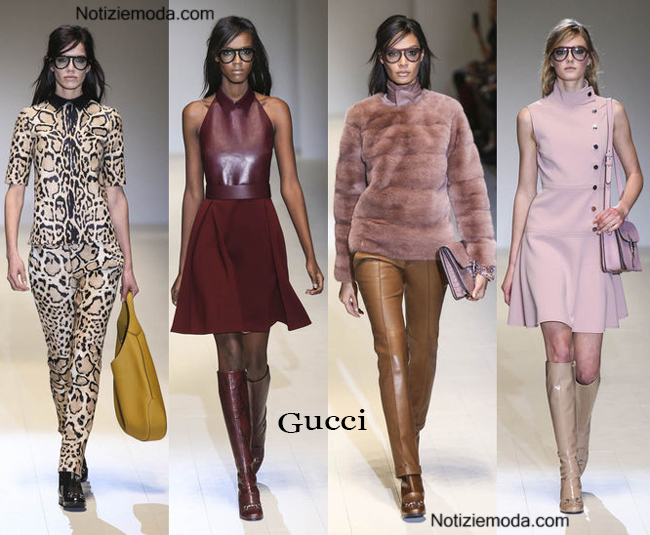 Abbigliamento Gucci autunno inverno 2014 2015 donna