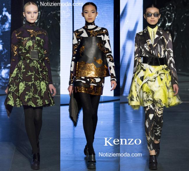Abbigliamento Kenzo autunno inverno 2014 2015