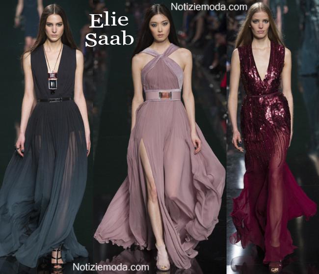 Abiti Elie Saab autunno inverno 2014 2015 moda donna