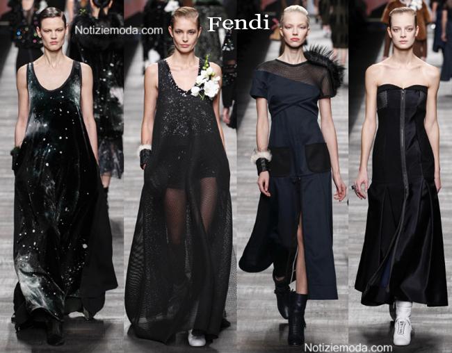 Abiti Fendi autunno inverno 2014 2015 moda donna