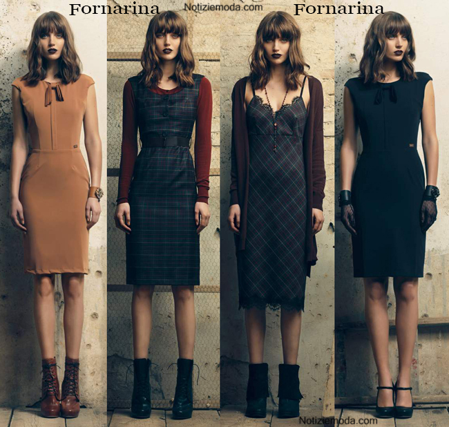 Abiti Fornarina autunno inverno 2014 2015 moda donna