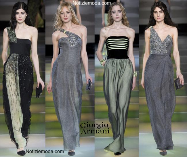 1a71e3a19b Abiti Giorgio Armani autunno inverno 2014 2015 moda donna