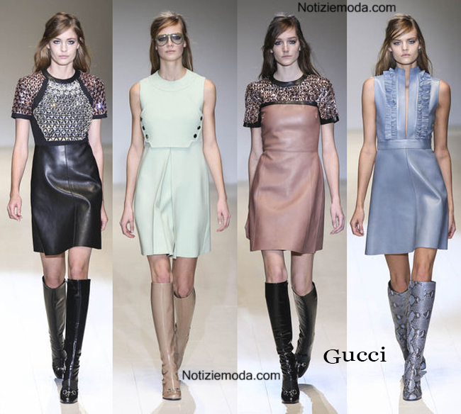 uk availability d66ac ea244 Abiti Gucci autunno inverno 2014 2015 moda donna
