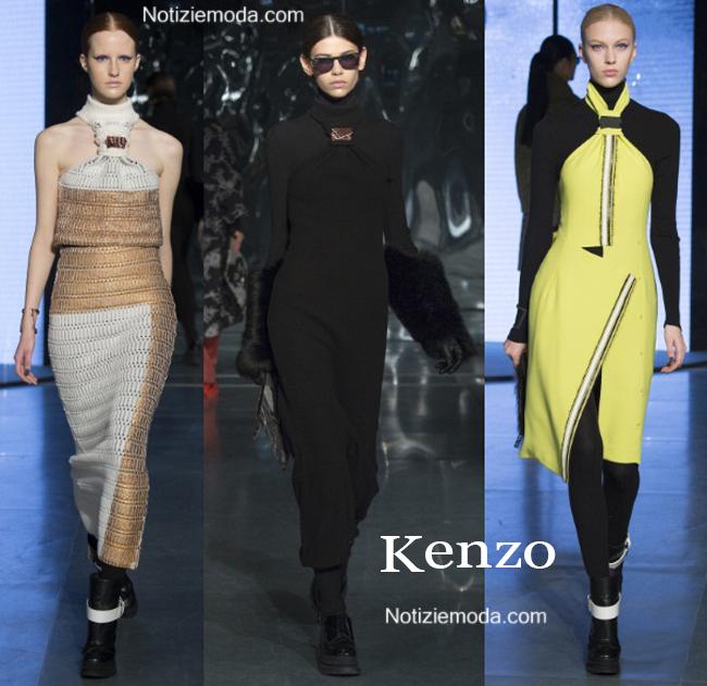Abiti Kenzo autunno inverno 2014 2015 moda donna